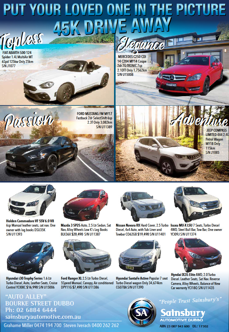 Full Page Used Cars